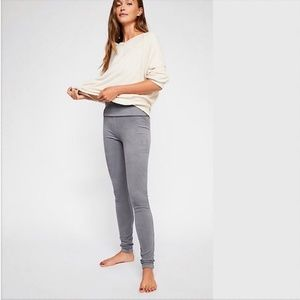 Free People Movement NWT Grey Khordney Leggings